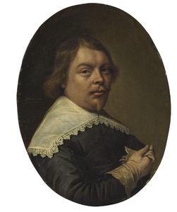 Portret van een man op 24-jarige leeftijd