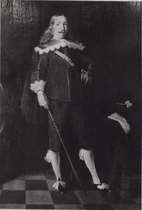 Portret van een man, ten onrechte genaamd Van Cammingha