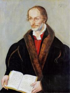 Portret van Philip Melanchthon