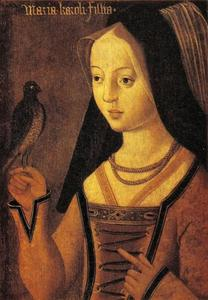 Portret van Maria van Bourgondië (1457-1481)