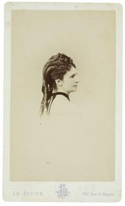 Portret van Bertha Johanna Wilhelmina van der Vliet (1852-1926)