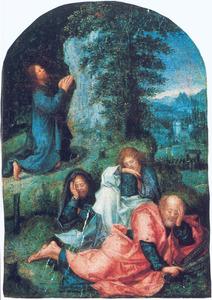 Christus in de Hof van Olijven te Getsemane