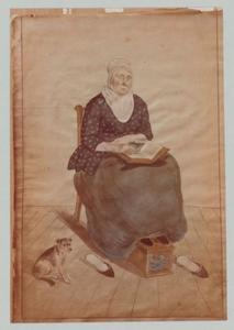 Portret van Hendrikje Vollewens (1751-1836)
