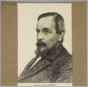Portret van Jhr. mr. J.W.M. Schroder