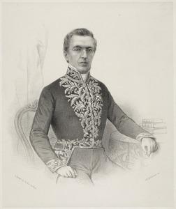 Portret van Johan Pieter Cornets de Groot van Kraayenburg (1808-1878)