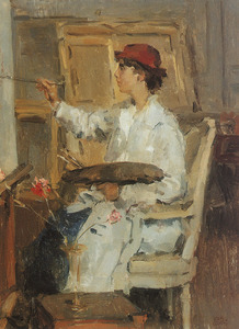 Portret van Pauline Johanna Gesine Mouthaan (1892-?)