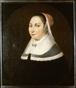 Portret van een persoon genaamd Anna Hilverdink