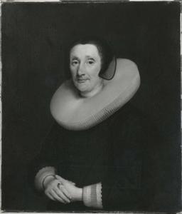 Portret van een vrouw, mogelijk Aecht de Vlaming van Oudshoorn (?-?)