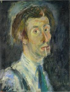 Zelfportret van Pieter Defesche (1921-1998)