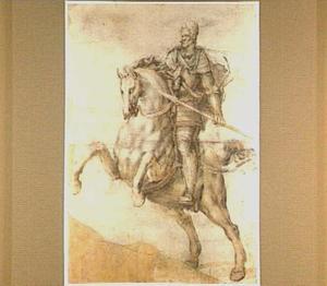 Ruiterportret van keizer Rudolf II (1552-1612)