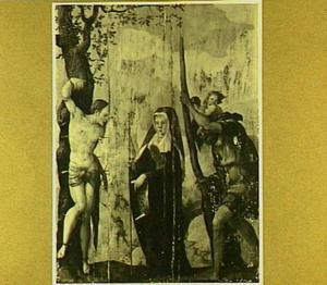 De HH. Sebastiaan, Gertrudis van Nijvel en Christoforus