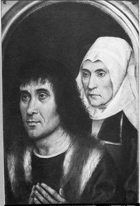 Twee stichtersportretten (binnenzijde rechterluik)
