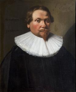 Portret van Jacob Josiasz. Wybo (1599-....)