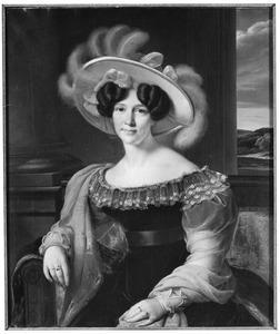 Portret van Gooswina Geurdina van Neukirchen genaamd Nyvenheim (1781-1830)