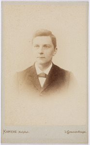 Portret van Christian Ludwig Rümke (1863-1925)