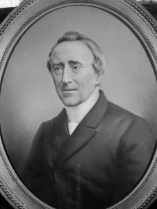 Portret van Joannes Sibinga (1802-1870)