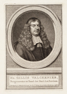 Portret van Gillis Woutersz. Valckenier ( -1680)