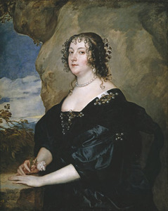 Portret van Beatrice Hemmema, Countess of Oxford (1580-1655)