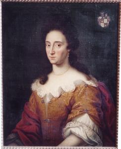 Portret van Anna Antonetta zum Bach von Coesfeld (?-1730)