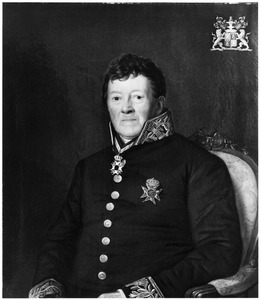 Portret van Marc Cornelis Willem Baron du Tour van Bellinchave (1764-1850)