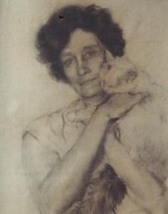 Portret van Claire Jeanne Pollones (1878-1966)
