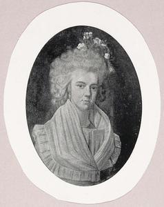 Portret van Sara Fabius (1769-1831)