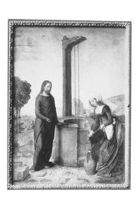 Christus in gesprek met de Samaritaanse vrouw