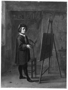 (Zelf)portret van een onbekende kunstenaar