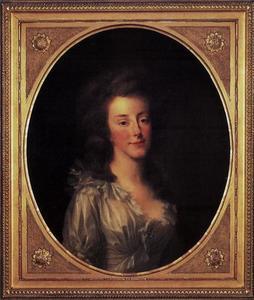 Portret van Louise van Oranje-Nassau (1770-1819)