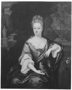 Portret van Theodora Catharina van Leyden van Leeuwen (1661-1728)