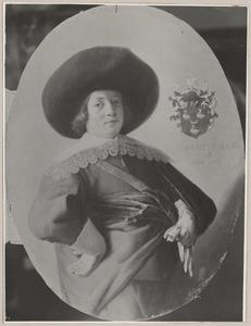 Portret van een jonge man uit het Haarlemse geslacht Ou(d)t