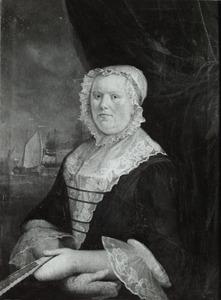 Portret van Geertje Gelderda (1708- )