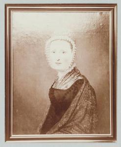 Portret van Johanna Maria Visch (1792-1876)
