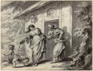 Ceres verandert Ascalabus in een hagedis (Metamorfosen 5:456)