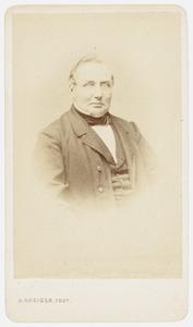 Portret van Gerrit Hulshoff (1812-1893)
