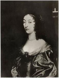 Portret van Johanna Barbara de la Kethulle ( -1686)