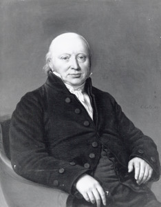 Portret van Pieter van der Breggen Paauw (1761-1849)