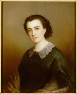 Portret van Maria Wilhelmina Vincentia Baud (1826-1872)