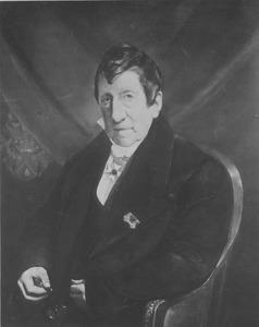 Portret van Jean Gijsberto de Mey van Streefkerk (1754-1844)