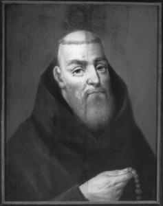 Portret van een Capucijner monnik