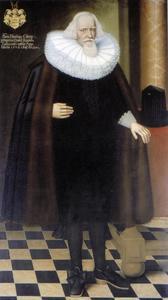 Portret van Heinrich Köhler (1576-1641), burgemeester van Lübeck