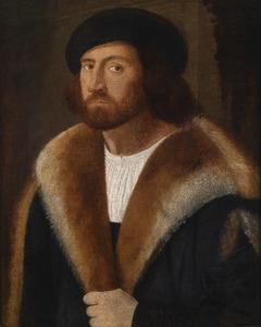 Portret van man met baret
