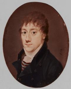 Portret van een man, mogelijk Wilhelm(us) van Waning (1785-1818)