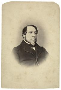 Portret van Jan Viruly (1814-1876)