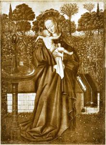 Maria bij de fontein
