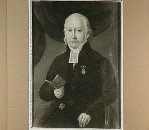 Portret van Ds. Oort (1788-1849)