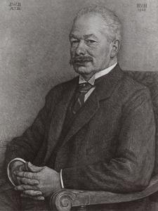 Portret van Jacob Wiardi Beckman (1869-1938)