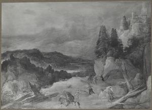Overval in berglandschap
