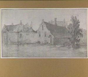 Ridderhof aan een rivier