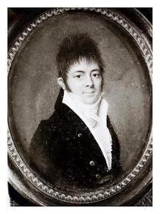 Portret van een man, mogelijk jonkheer Johan Hora Siccama (1778-1829)